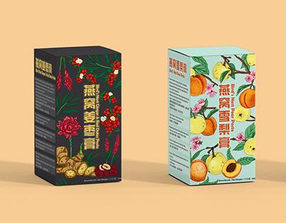Bird Nest Paste Packaging Design