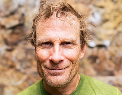 Climbing with Conrad Anker