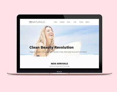 Organic Cosmetics Website