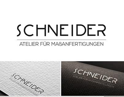 Logo Entwürfe für Maßschneiderei