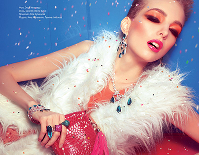 Styling & Makeup for Makeup&YOU Professional Magazine