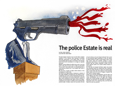 The police State is real