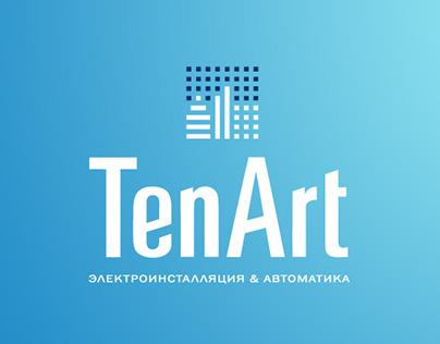 """Logo """"TenArt"""""""