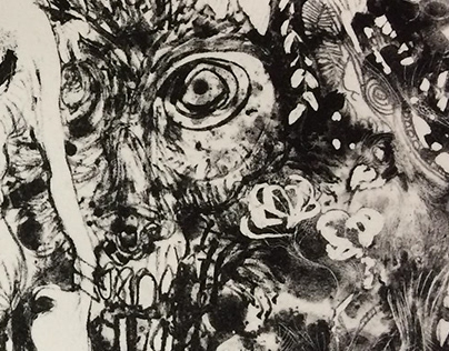 Lithograph 16: No André in Eden