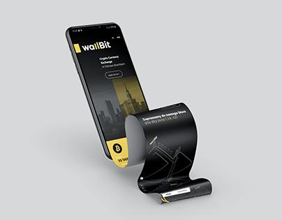 Wallbit - cryptocurrency exchange branding