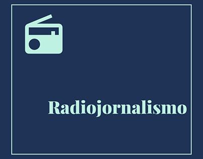 Produção de radiojornal