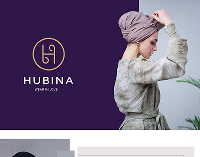 """HUBINA"" fashion brand, catalogue, presentation"