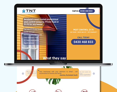 TNT Management wesite redesign submission