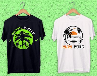 SUMMER / BEACH T-SHIRT DESIGN
