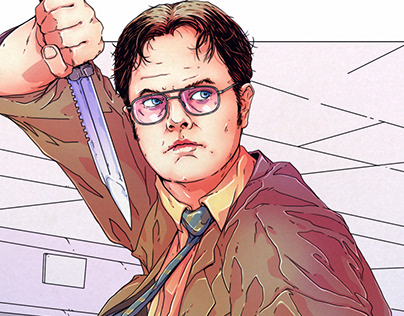 Dwight Schrute - Perfect Crime - Print/Poster