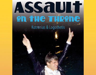 Carlsen's Assault on the Throne bookcover design