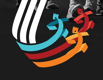 logo and corporate style Luchesk half marathon 2017