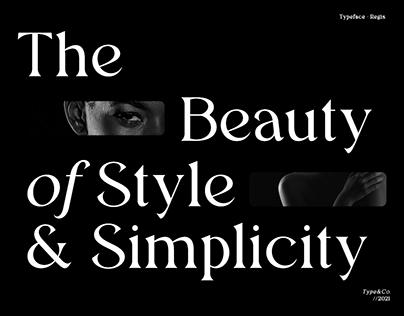Regis Typeface - FREE