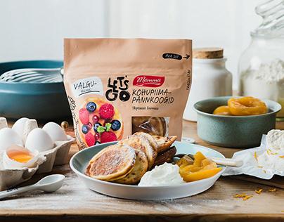 Mamma pancakes food photography & styling