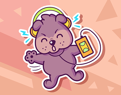Sticker Set 01 // Character Design