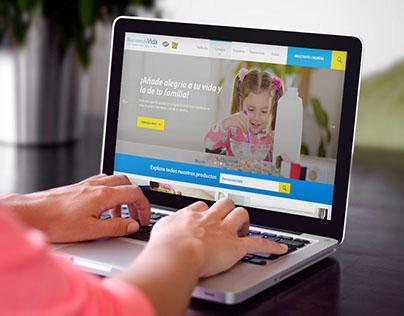 Bienvenida Vida Website
