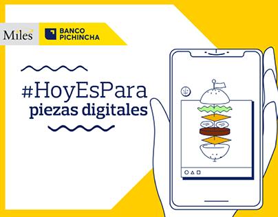 Hoy Es Para | Tarjetas Banco Pichincha