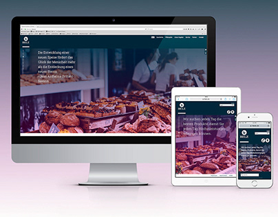 Webseite BELZ