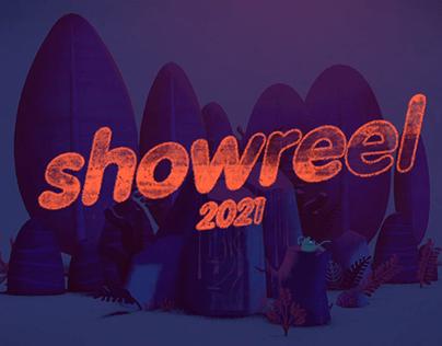 Showreel 2021 - Shot Breakdown