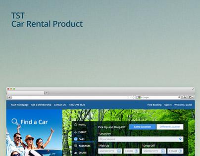 TST Car Rental Product
