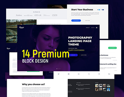 Moment – Website UI Pack