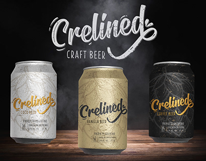 Lettering y marca - Crelined by Mica Jauma