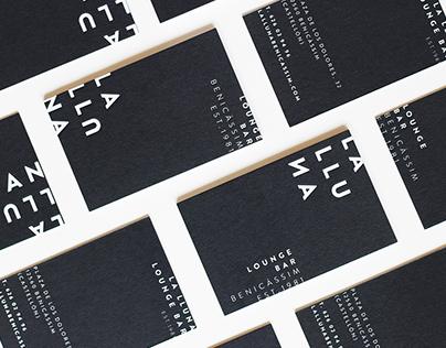 La Lluna Lounge Bar · Graphic Identity