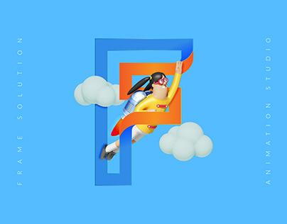 Frame Solution / Logo Design 2017