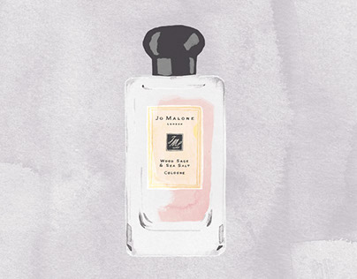 Prix du Parfum // Editorial Illustration