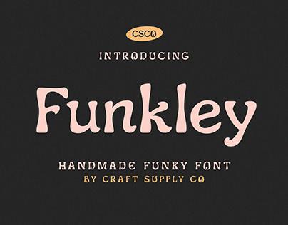 Funkley – Handmade Funky Font (Free Download)