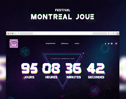 Festival Montreal Joue