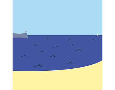 Illustration: Western beach (2015)