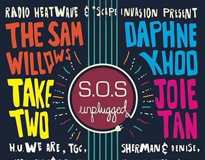 JULY 2015 - Radio Heatwave's S.O.S. Unplugged