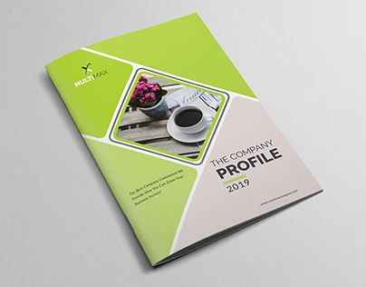 Company Profile Template On Behance