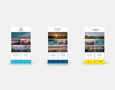 Maris Group Hotels mobile app | UI UX Design