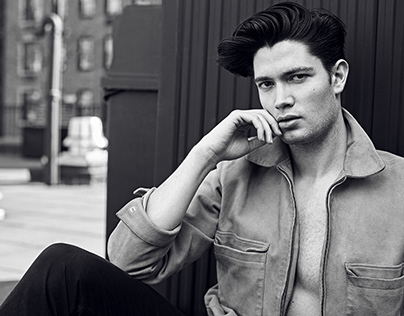 Urban & edgy male model photo shoot | NYC
