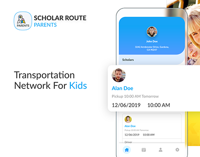 Scholar Route - Transportation Network for Kids