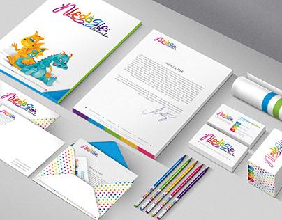 Niedasię-Logo and visual identity