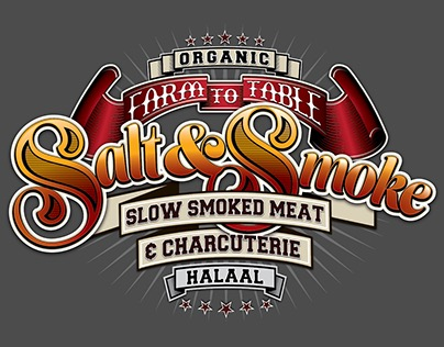 Salt & Smoke logo design