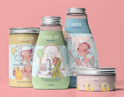 ILLUSTRATIONS FOR PACKAGING DESIGN