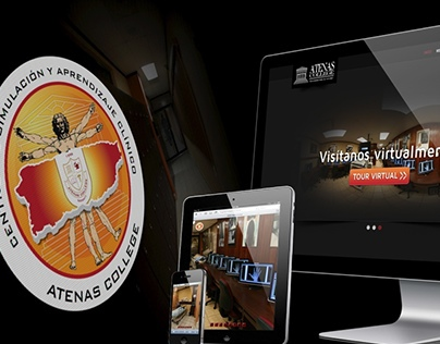Atenas College -Hospital Simulado - website 2012