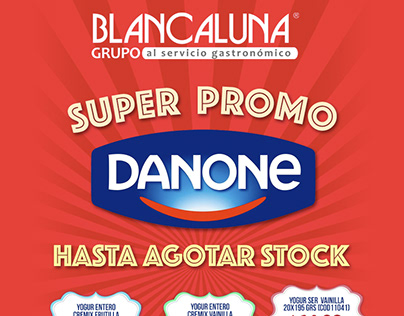 Blancaluna » Promo Danone redes sociales + email mkt