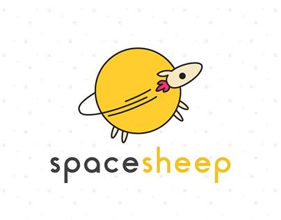 Spacesheep Logo Design
