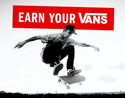 Earn Your Vans