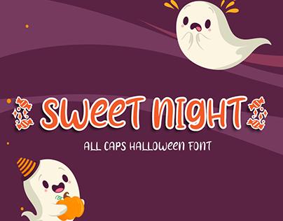 Sweet Night | Halloween Font