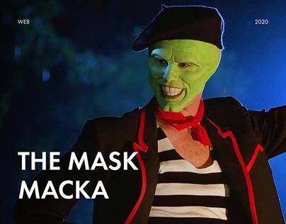 Movie website | The Mask | Маска