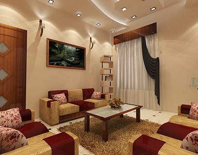 3D_Modular_Drawing Room