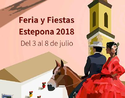 Propuesta Cartel Feria Estepona 2018