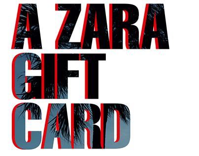 Zara Gift Card.