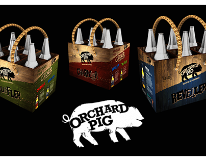 YCN: Orchard Pig 2017 - 6 Pack Re-Design